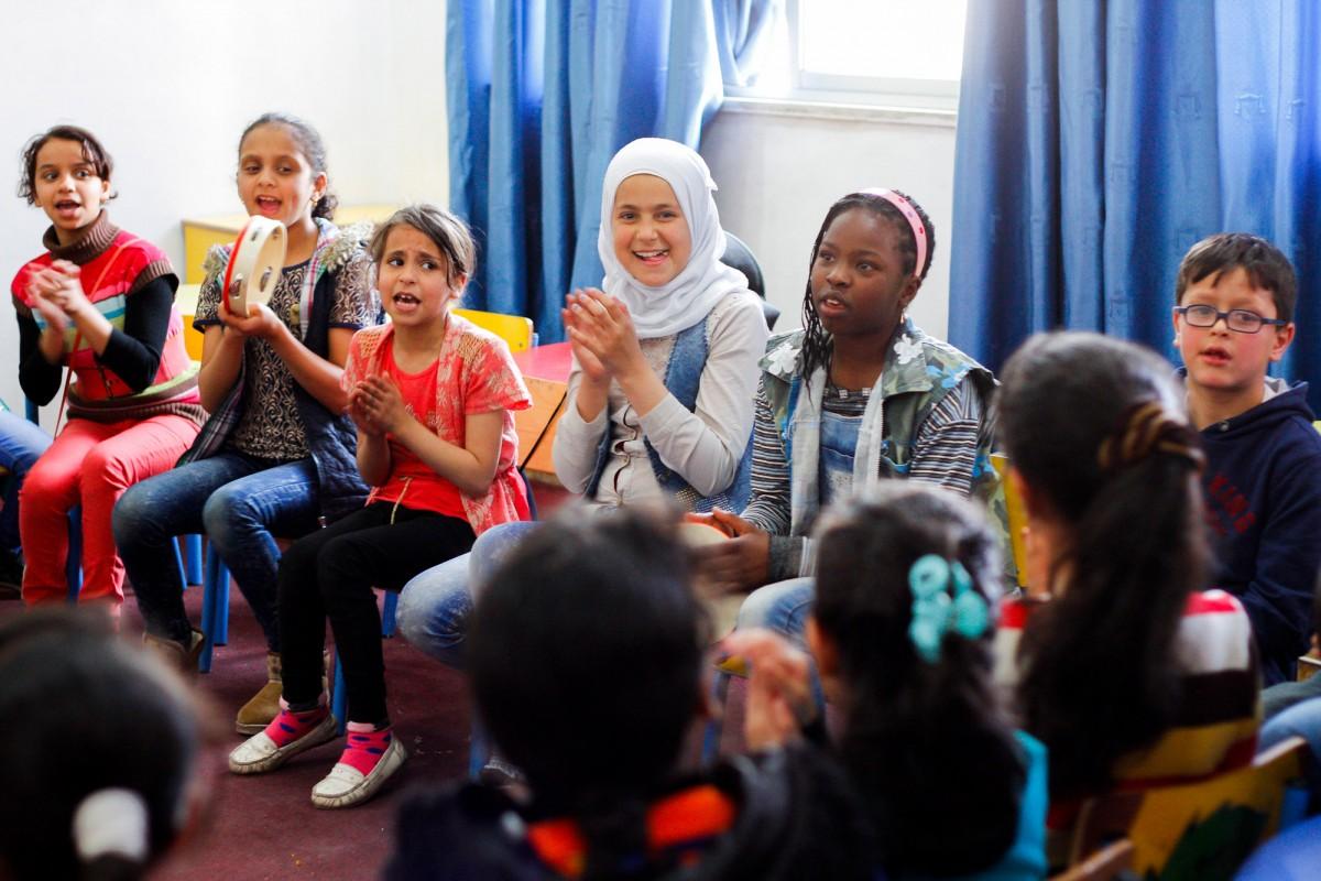 On Saturdays, the school hosts the remedial centre, a tutoring program organized by Madrasati.